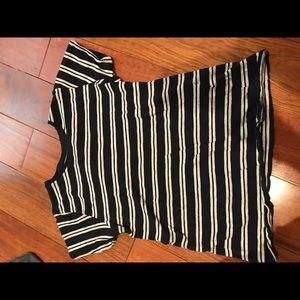 Women's striped shirt.